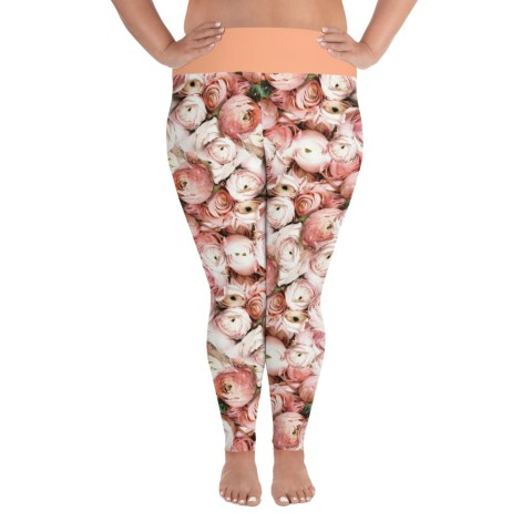 Floral Curvy Leggings