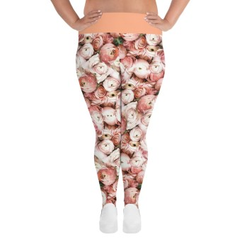 Floral Curvy Leggings
