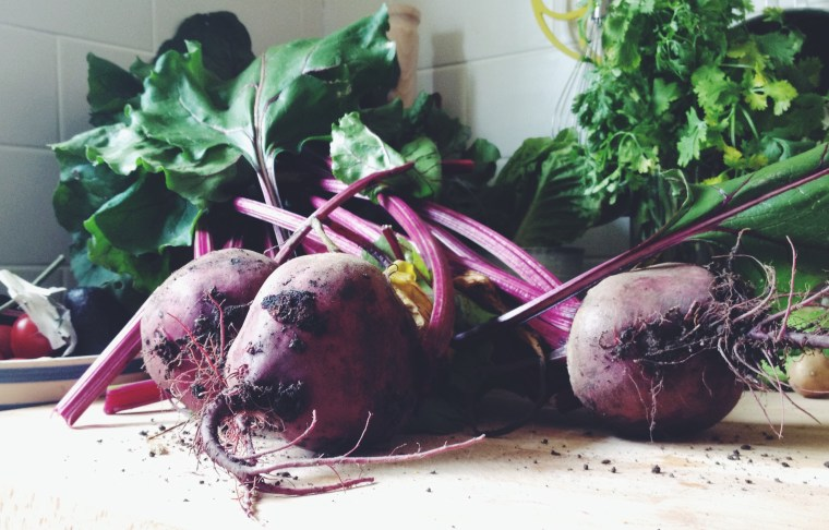Giant beetroot from Wilf