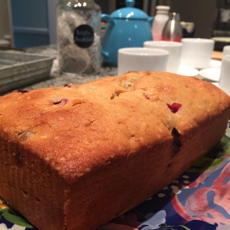 loaf of Cranberry-Orange Pecan Bread