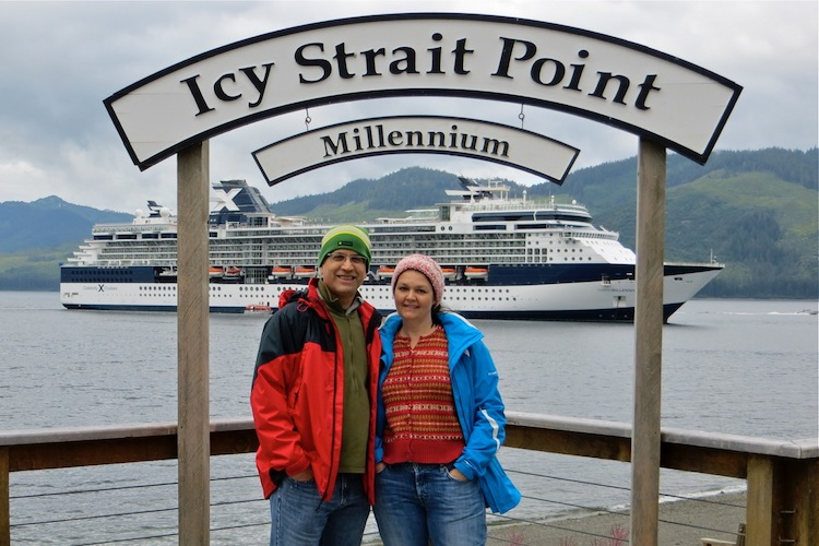 Photo Op on Icy Strait Point