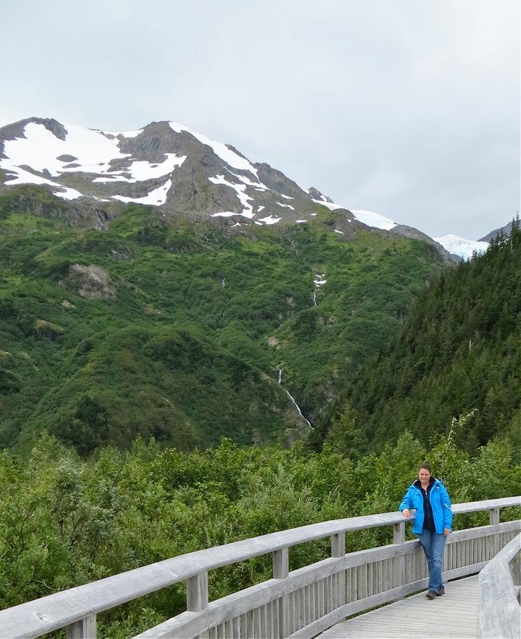 view of Portage Glacier