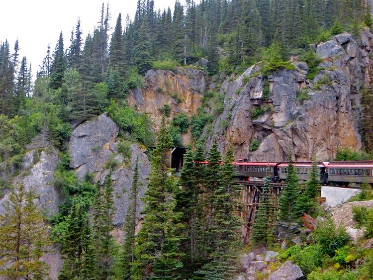 White Pass and Yukon Train Bridge
