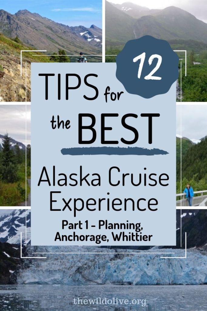 12 tips for alaska cruise pin
