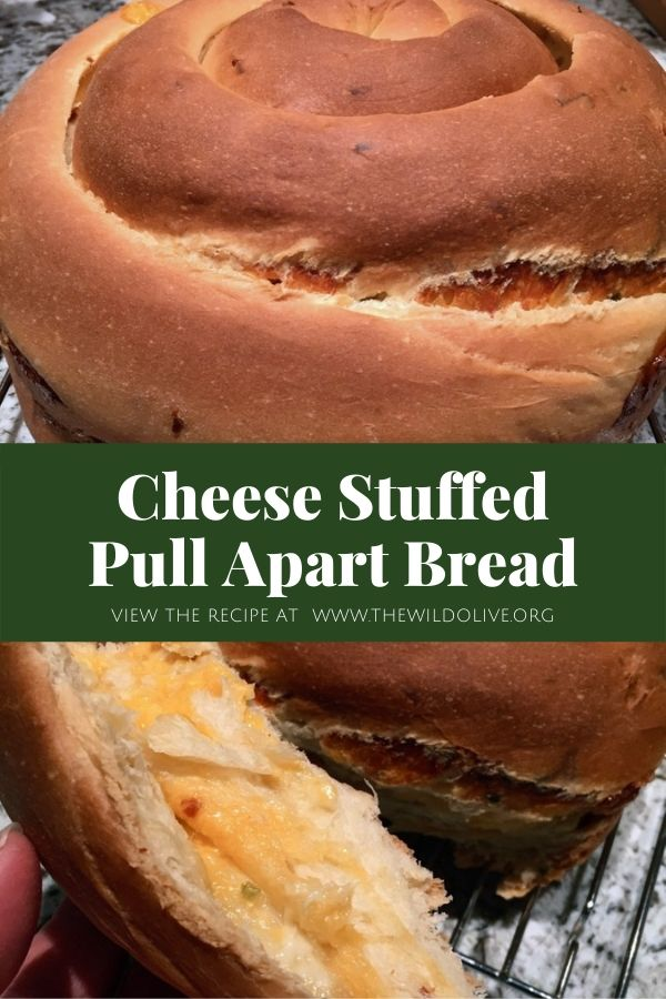 Cheese Stuffed Pull Apart Bread | Yeast Breads | Cheese Breads