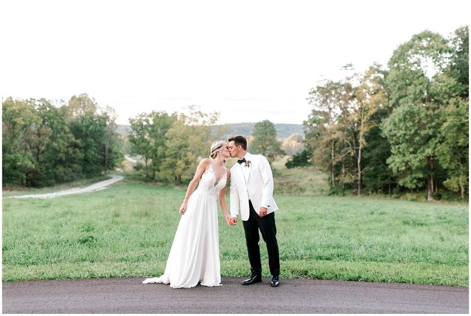 Indiana destination wedding at The Wilds