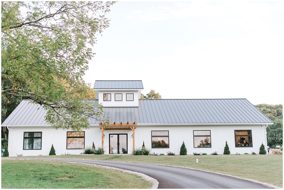 The Wilds is an elegant farmhouse wedding venue in Bloomington, IN with all of the amenities discerning clients desire.