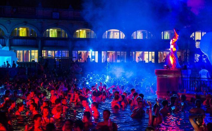 Széchenyi Thermal Baths sparty