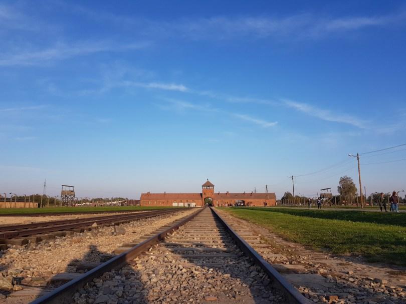 Train Tracks at Birkenau