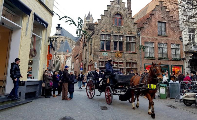 Bruges Horse & Carraige