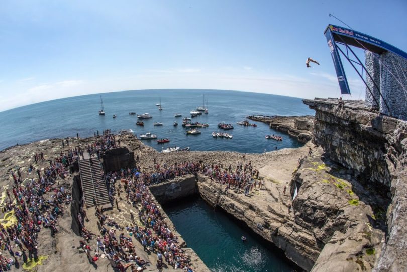 Red Bull Cliff Diving Aran Islands