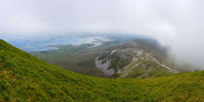 Coming Down Croagh Patrick