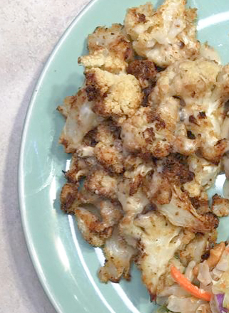 Air Fryer Baked Cauliflower
