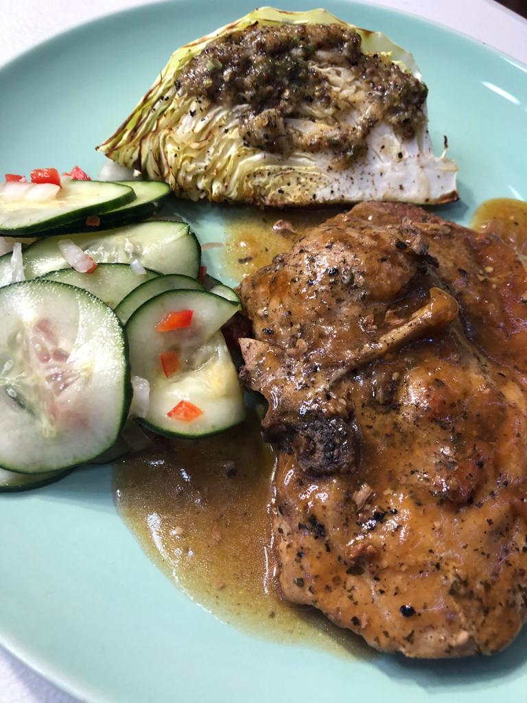Instant Pot Ranch Pork Chops