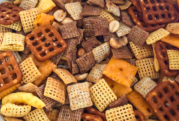 Air Fryer Chex Mix
