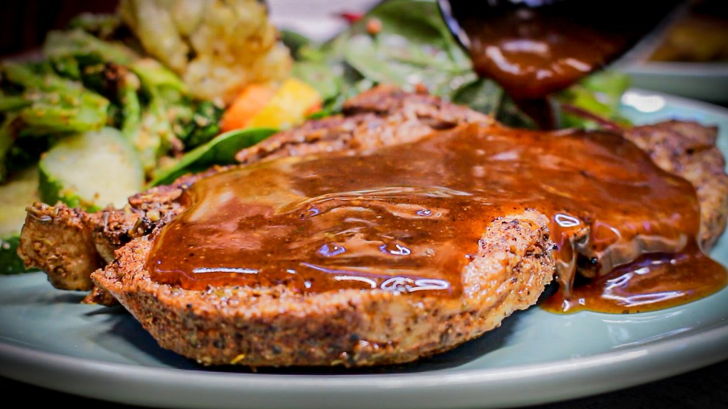 southwest pork chops with gravy in the instant pot
