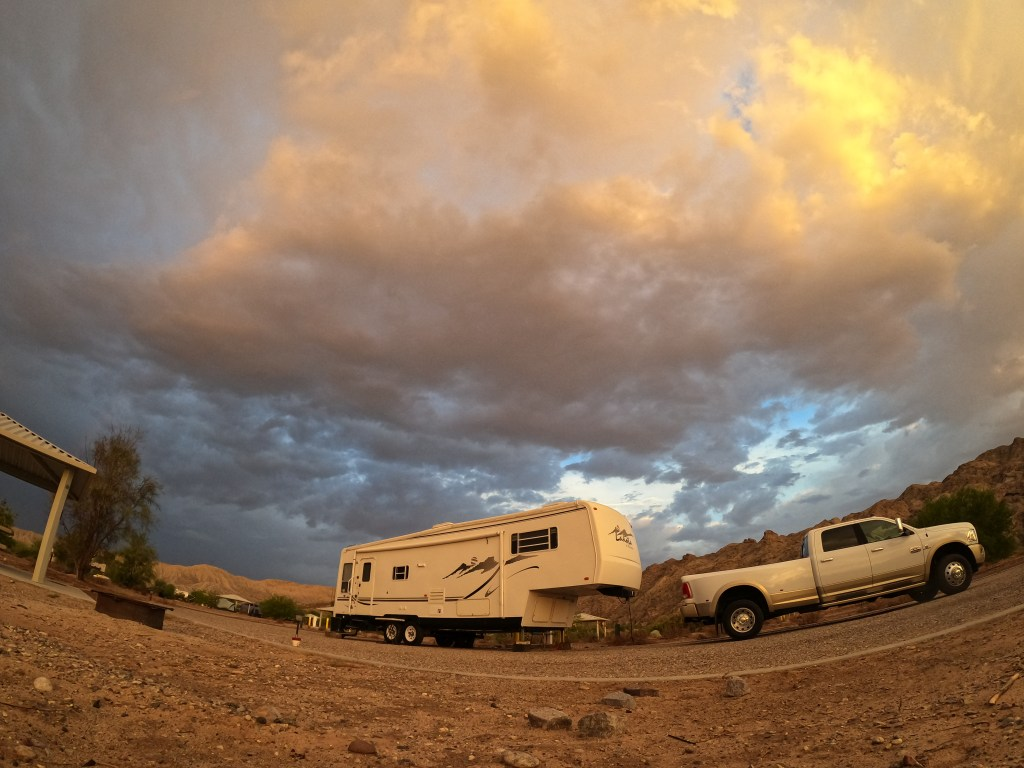 Beautiful morning camped at the Big Bend of the Colorado River Campground