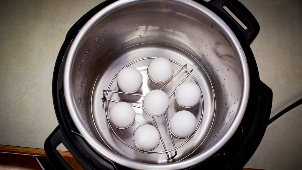 Egg holders to make hard boiled eggs in the instant pot are a must have for anybody that eats hard boiled eggs or makes salads.