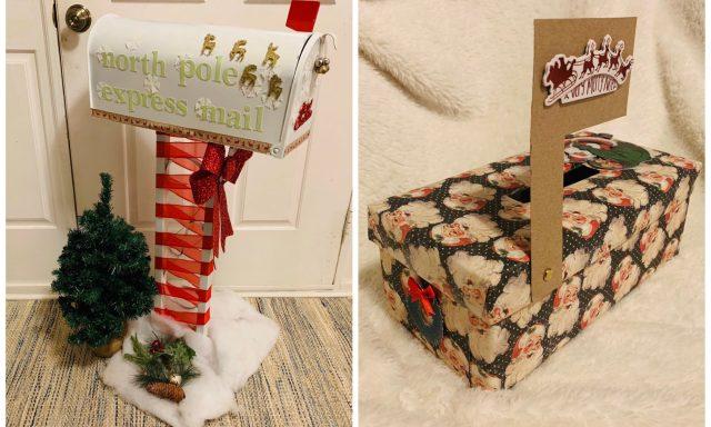 Diy Mailbox For Santa The Wilke Way