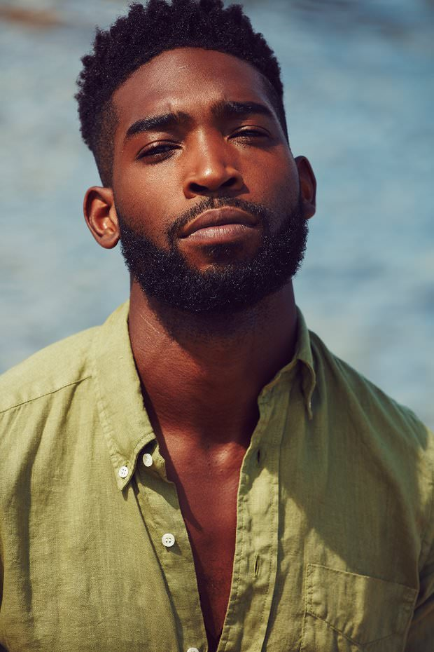 British Nigerian Rapper Tinie Tempah For Mr Porter