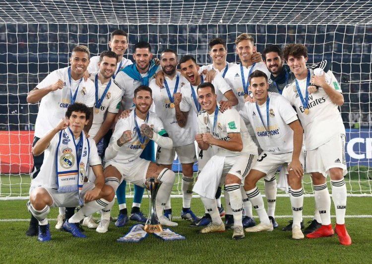Real Madrid Win 3rd Successive Club World Cup