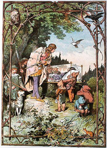 Snow White Darstellung von Alexander Zick