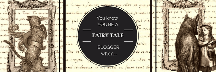 Fairy tale blog tour banner