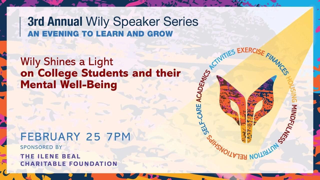 Wily BTL 3rd Speaker Series