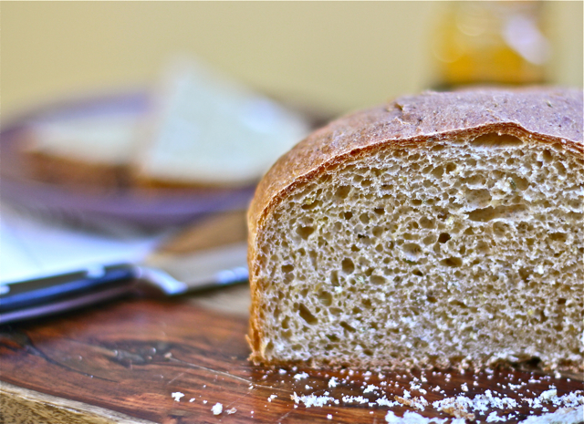 Whole Wheat Bread with Fennel Seed