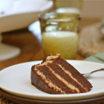 Peanut Butter and Jelly Chocolate Cake