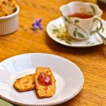 Spicy Blue Cheese and Apricot Sables: The Wimpy Vegetarian
