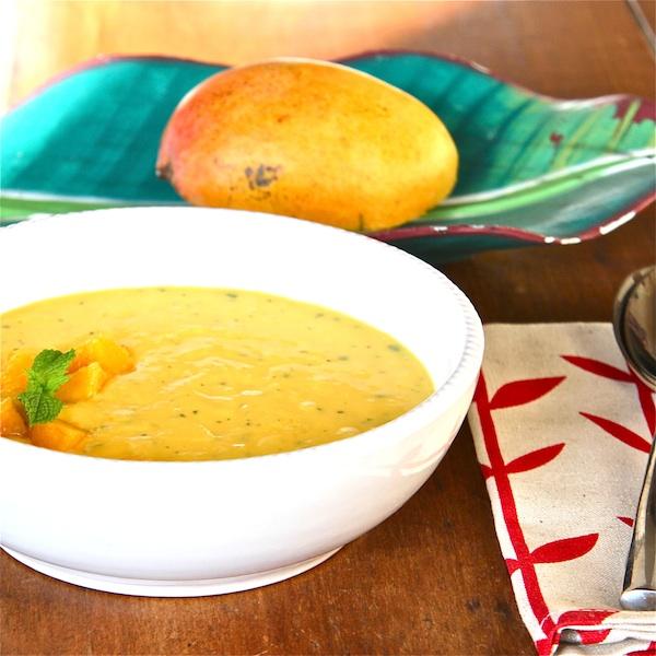 Bowl of Mango Sunshine : The Wimpy Vegetarian