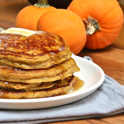Pumpkin Ricotta Pancakes : The Wimpy Vegetarian