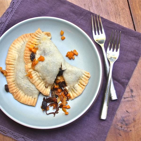 Butternut Squash Caramelized Onion Empanadas : The Wimpy Vegetarian
