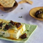 Honeyed Warm Feta with Dates : The Wimpy Vegetarian