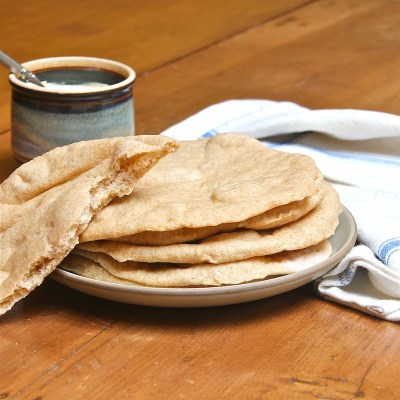 Whole Wheat Pita Bread : The Wimpy Vegetarian