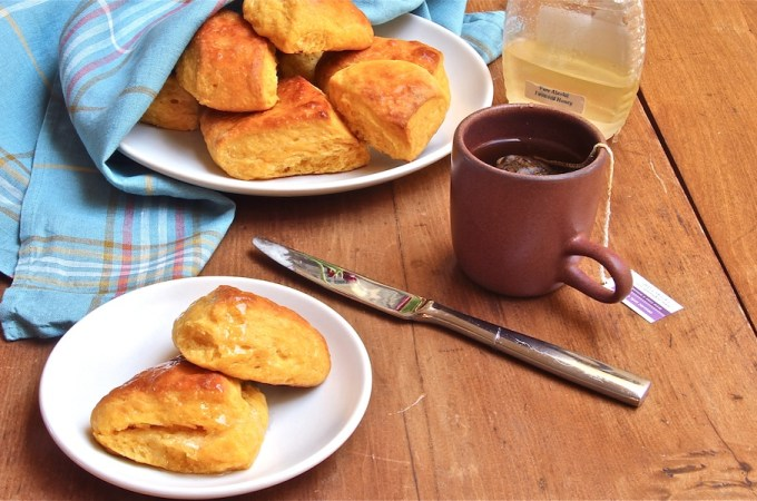 Sweet Potato Biscuits With Coconut Oil
