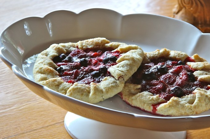 Strawberry Galette with Cardamom