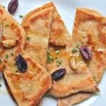 flatbreads, whole wheat roasted garlic naan