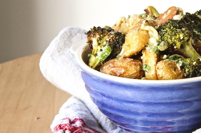 Broccoli Gribiche: Secret Recipe Club