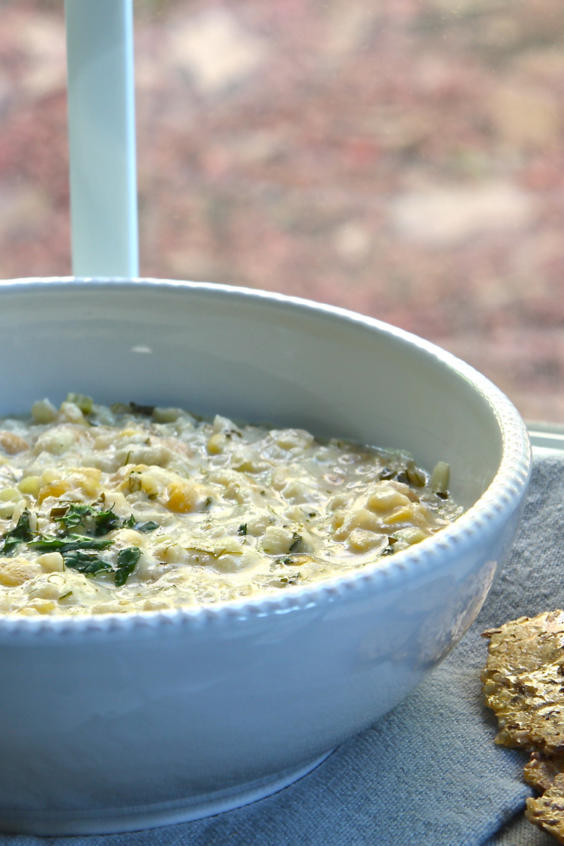 Hearty Persian yogurt soup, also known as _________, filled with potatoes, chickpeas, and lentils.