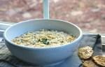 Persian Yogurt Soup (Ashe Mast), vegetarian soup