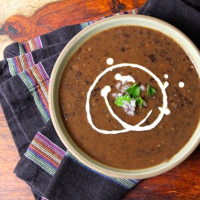 Slow Cooker Black Bean Soup Secret Recipe Club