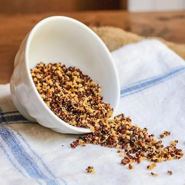 Quinoa Crispies