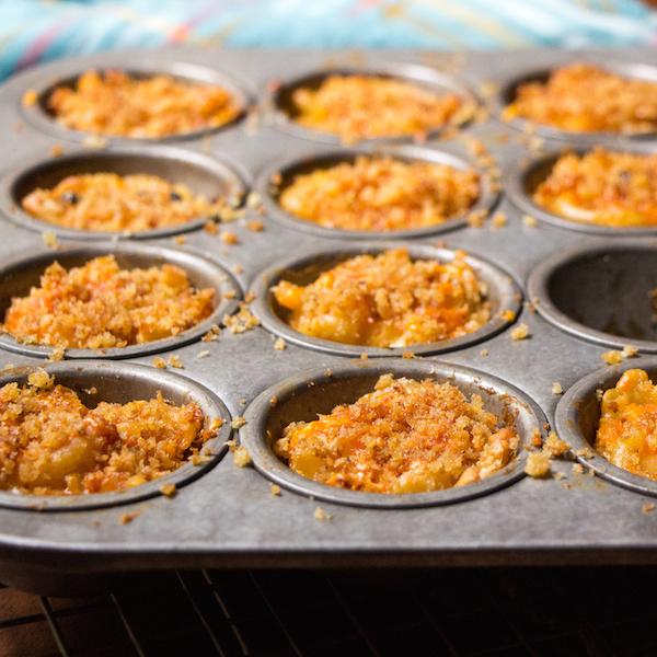 Jalapeño mac 'n cheese bites