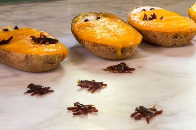 Twice Baked Potatoes (Mummy-Style)