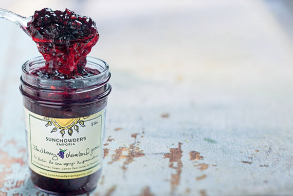 Sunchowder blackberry jam