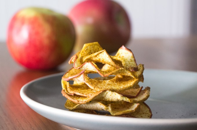 Curried Apple Chips