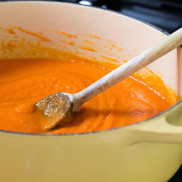 Vegan Ginger-Carrot Soup