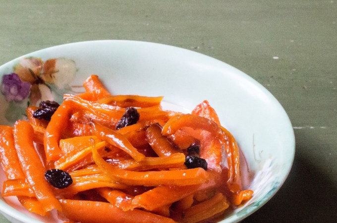 Maple Candied Carrots with Currants: #FallFest